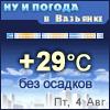 Ну и погода в Вазьянке - Поминутный прогноз погоды
